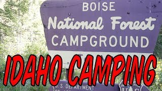 Idaho Camping: 10 Mile Creek, Boise National Forest