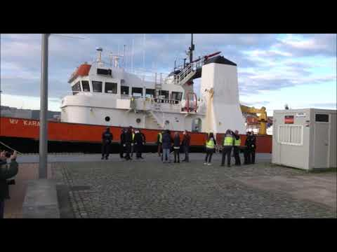 Registran un barco apresado en abril con cocaína en busca de más fardos en Vigo