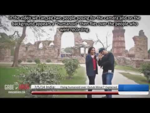 FLYING HUMANOID OVER INDIA? MAY 7, 2014 (EXPLAINED)