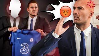 Zidane se ENFADA conmigo por ESTE JUGADOR..!! Modo Carrera Capítulo 2