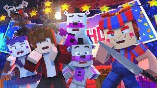 Minecraft FNAF 6 Pizzeria Simulator HIDE AND SEEK - PHANTOM BALLOON BOY?! (Minecraft Roleplay)