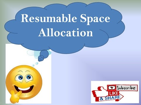 How to Perform Resumable Space Allocation in Oracle. /* Step By Step /*