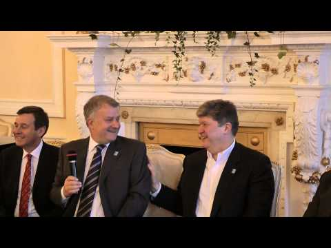 Rugby 7 event at the Russian Embassy in London