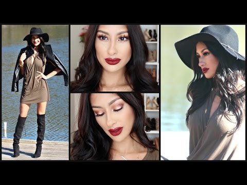 glam-valentine's-day-makeup,-hair,-&-outfit--complete-look