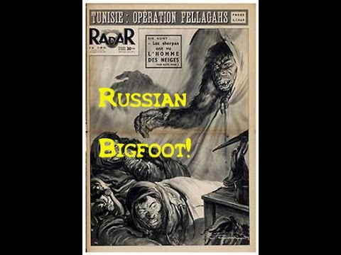 Bigfoot family leaves hundreds of tracks in Russia!