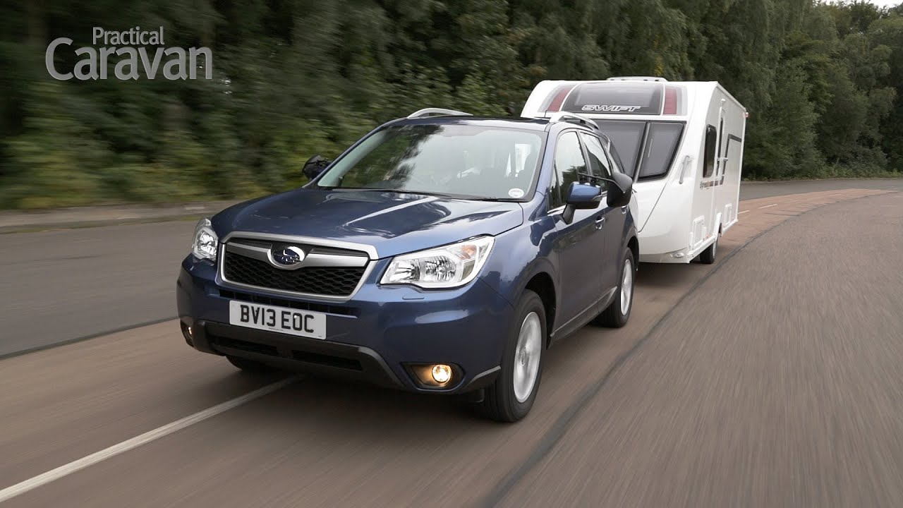 Practical Caravan | Subaru Forester | Tow Test 2013 - YouTube