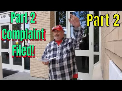 Part 2 Complaint Filed! At Pitt County Sheriff On  Sgt For False Arrest Etc. On Semperfimat