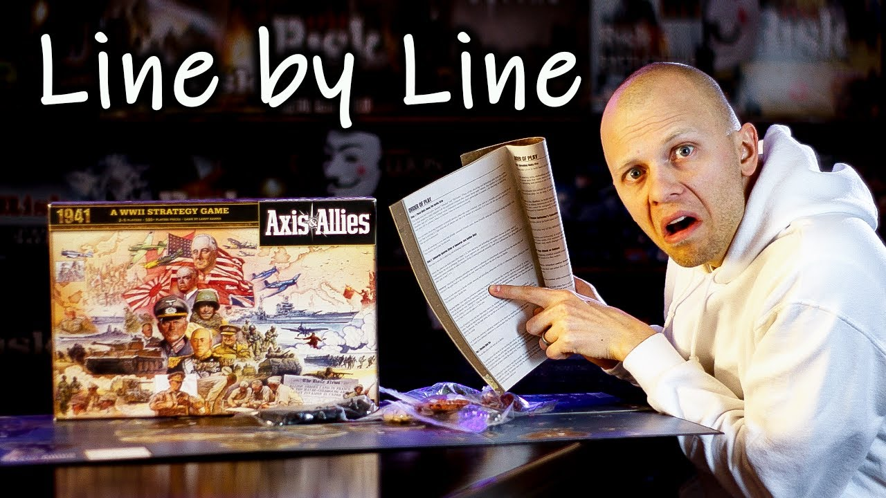 axis allies rules how to play youtube rh youtube com axis and allies 1914 manual axis and allies 1941 manual
