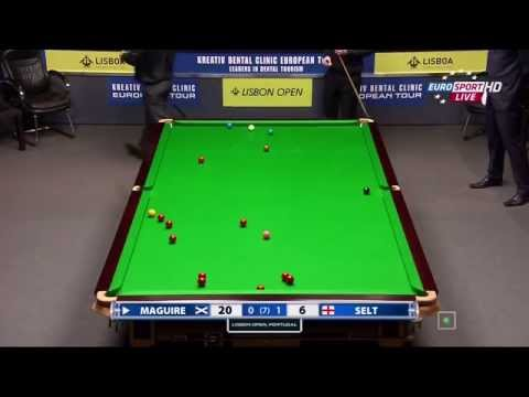 Snooker. Lisbon Open 2014.Final.S.MAGUIRE-M.SELT