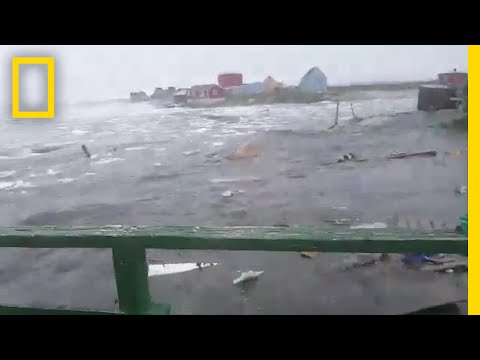 Watch: Deadly Tsunami Hits Greenland | National Geographic