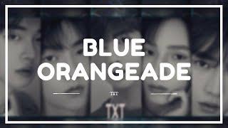 TXT - 'BLUE ORANGEADE' Easy Lyrics (SUB INDO)
