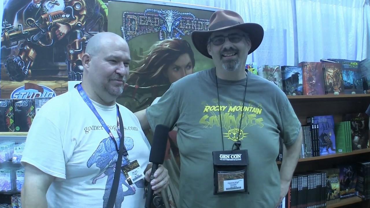 Gen Con Coverage 8 Sean Patrick Fannon of Evil Beagle Games LLC