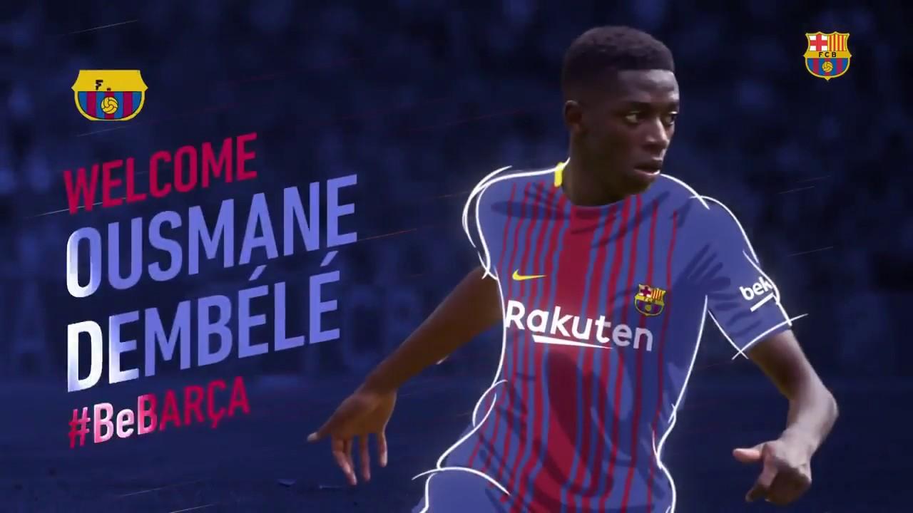online retailer 55d2b d1745 Welcome Ousmane dembele Barcelona jersey number 11