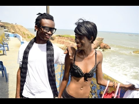 Ghana's tiniest  model Thelma, has a crush on musician Pappy Kojo