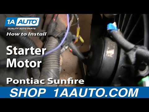 how to replace starter 96 98 pontiac sunfire youtube how to replace starter 96 98 pontiac