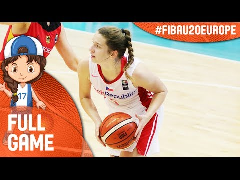 Czech Republic v Greece - Full Game - FIBA U20 Women's European Championship 2017 - DIV B