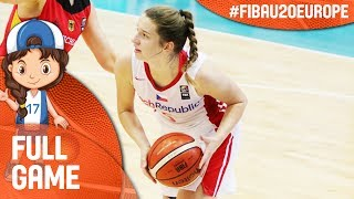 Czech Republic v Greece - Live - FIBA U20 Women's European Championship 2017 - DIV B thumbnail