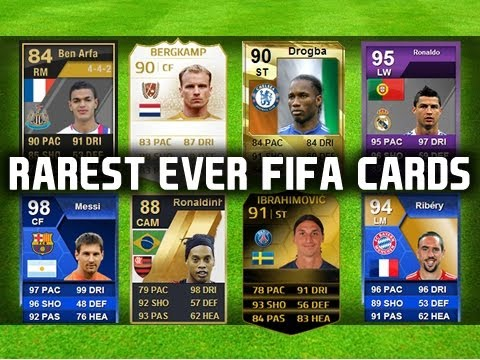 THE TOP 5 RAREST FIFA CARDS OF ALL TIME! - YouTube