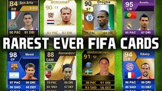 THE TOP 5 RAREST FIFA CARDS OF ALL TIME!