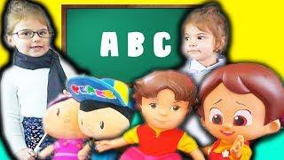 Niloya Pepee Heidi Şila Eylül Okulda Aşı Oldu. Doktor Eylül - Eğlenceli Çocuk Videosu - Tontik TV