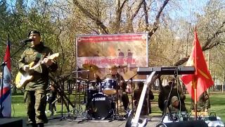 в первомайском сквере на 9 мая праздник в Новосибирске