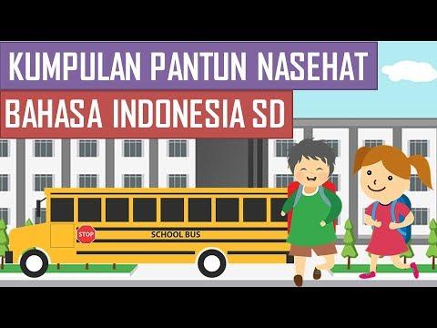 Kumpulan Pantun Nasehat Bahasa Indonesia Sd Youtube