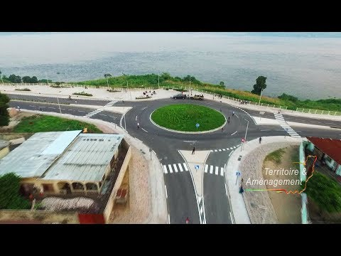 TERAM N°41 Corniche sud de Brazzaville tronçon  Case de Gaule - Pont du Djoué