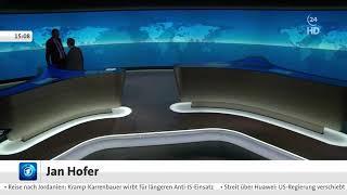 tagesschau24 - Live Panne - Mic offen - 19.08.2019