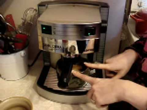 How To Make A Latte On Saeco Gran Crema Youtube