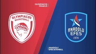 #EuroLeague 7. Hafta: Olympiacos - Anadolu Efes