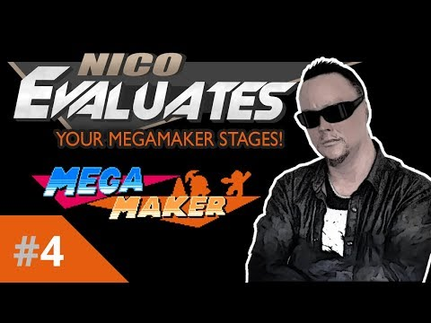 Nico Evaluates - Your Mega Maker Stages (Episode 4, AWESOME STAGE!)