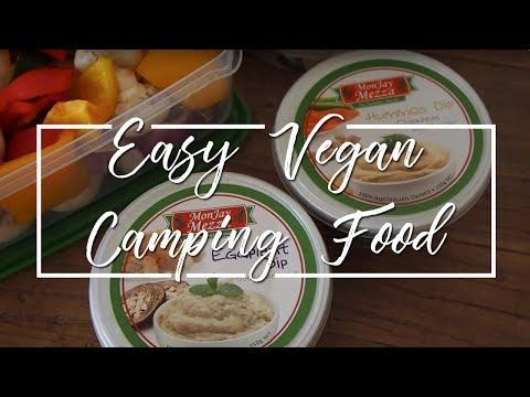 EASY VEGAN CAMPING FOOD | WHAT VEGAN FOOD TO TAKE CAMPING