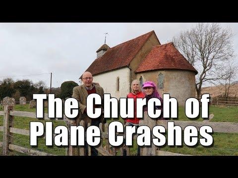 Exploring Upwaltham Church in West Sussex