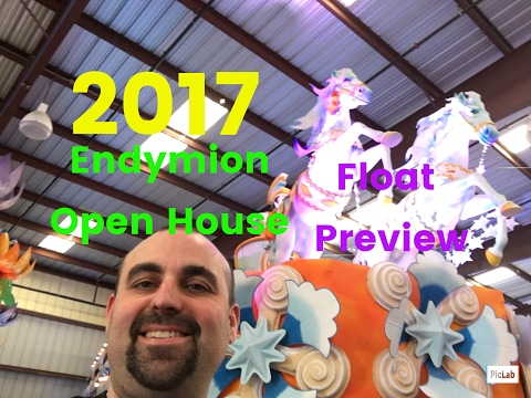 2017 Endymion Open House Float Preview New Orleans Mardi Gras