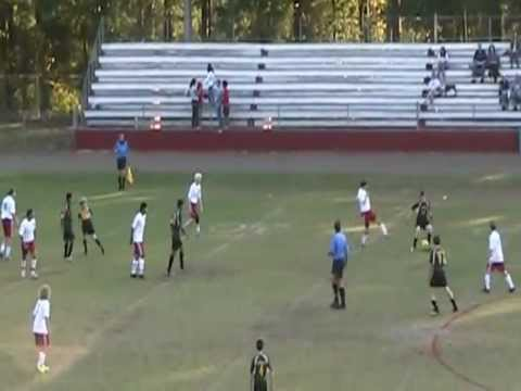 FHS Soccer. Wesley Miller Slide Tackle