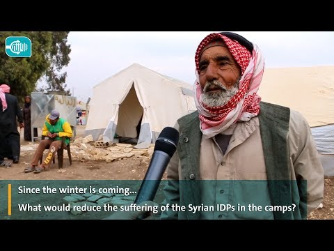 Since the winter is coming What would reduce the suffering of the Syrian IDPs in the camps