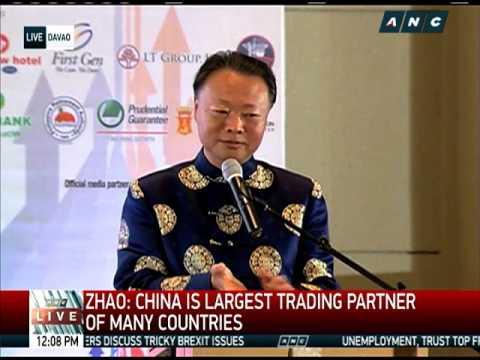 WATCH: Chinese envoy jokes about Trump, Aquino govt Part 1