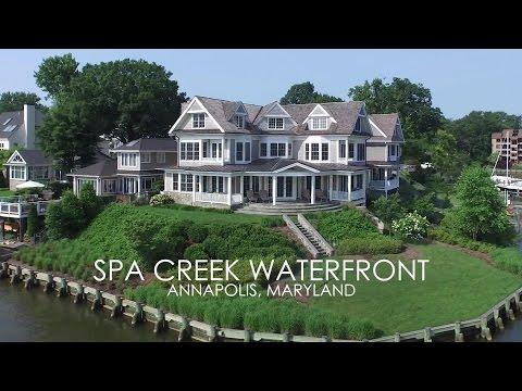 Spa Creek Waterfront - 203 Lockwood Court, Annapolis, Maryland 21403