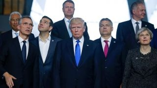 Trump scolds NATO allies for not paying their fair share thumbnail