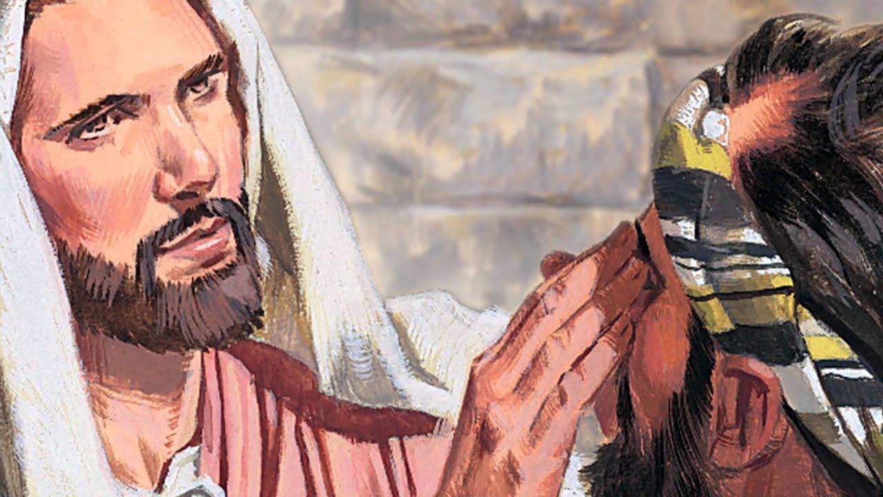 Kapitel 39: Jesus heilt einen Blinden - YouTube