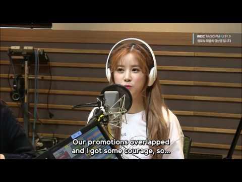 [ENG SUB] Apink's Chorong Mentions Mamamoo's Solar (Compilation)