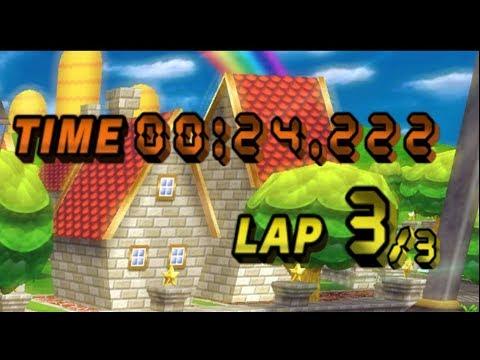 [MKW TAS] Mario Circuit Flap - 24.222 (No Glitch)