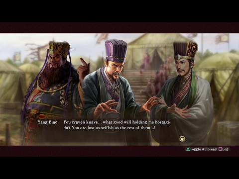 Xun Yu - The Day of the Coup (Yang Biao-Cao Cao) - Romance of the Three Kingdoms XIII PUK