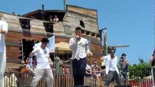 NKOTB Cruise 2012 - HMC Beach Concert - Summertime