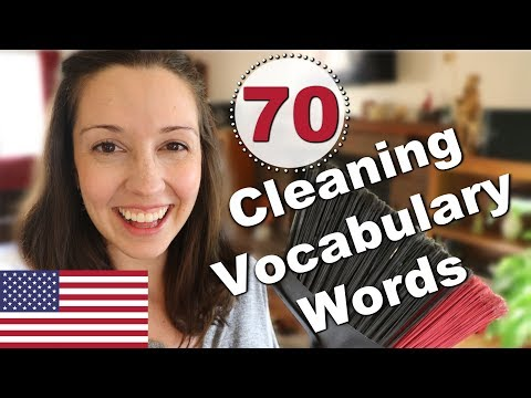 70 Cleaning Vocabulary Words: Expand Your English Vocabulary