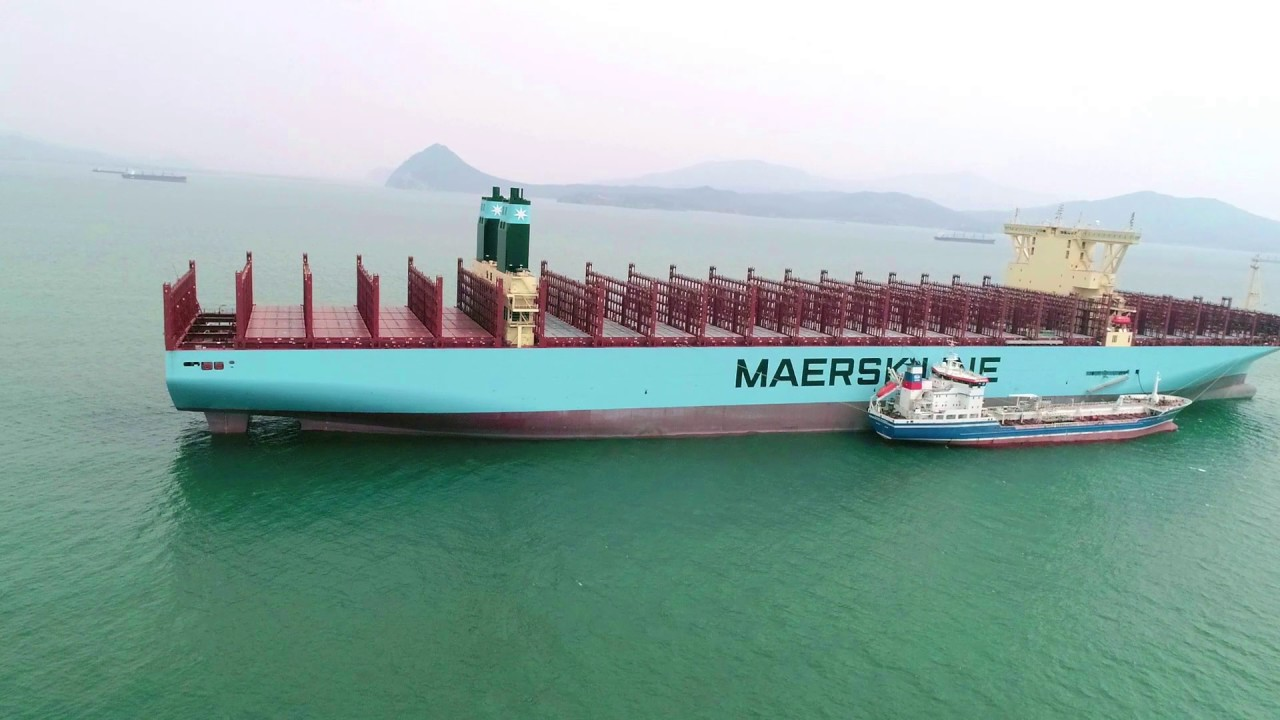 Madrid Maersk, the Latest World's Biggest Containership