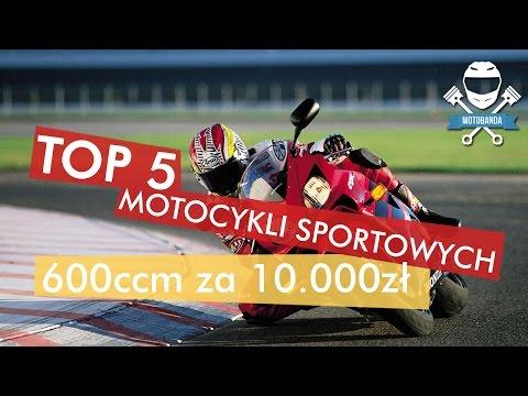 Top 5 Sportowych Motocykli 600ccm Do 10.000 Zł | Jaki Motocykl Sportowy