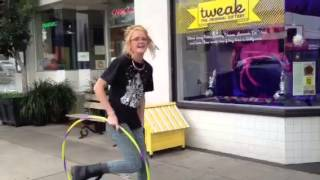 Hula Hoop at Tweak