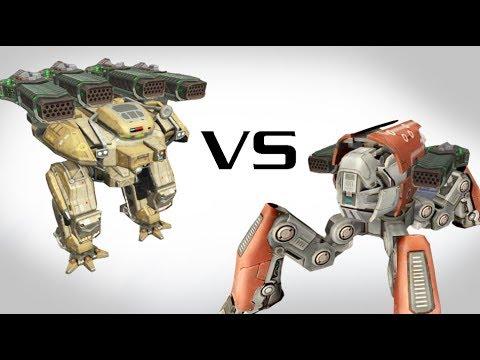 Behemoth (Thunder) Vs Raijin (Thunder) Test   WAR ROBOTS