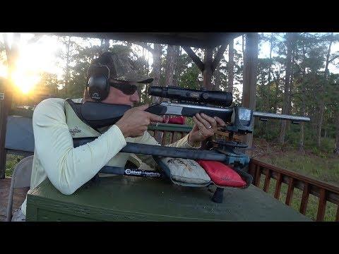 Long Range Shooting With Black Powder {CVA Optima And Wolf} 340 Yards